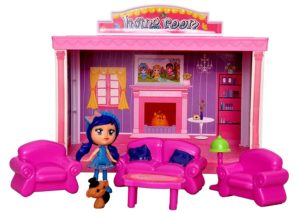 Amazon - Buy Toyshine DIY Living Room Doll House Toy, Role Play House at Rs. 379