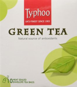 Amazon - Buy Typhoo Plain Green Tea, 20g at Rs. 44