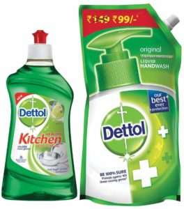 Amazon Steal - Buy Dettol Kitchen Gel - 400 ml (Lime)