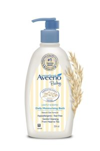 Aveeno Baby Daily Moisturising Bath for Delicate Skin (354ml)