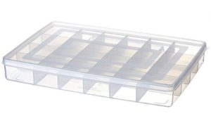 BMS Lifestyle Plastic Pill Box, Transparent at rs.94