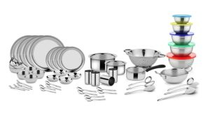 Classic Essentials Stainless Steel Dinnerware Set