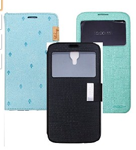 3 Pcs Rock Flip Covers for Samsung Galaxy Mega 6.3 - i9200 | Samsung Mega 6.3 Flip Covers | Mega 6.3 i9200 Rock Flip Covers | Leather Flip Covers Mega 6.3 i9200 Samsung