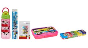 Disney Minnie Mouse back to School stationery combo set at rs.217