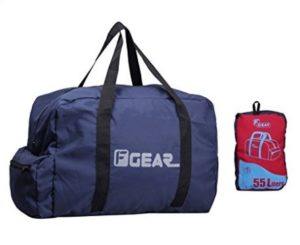 F Gear Voyager Foldable 55 litersTravel Duffle Bag at rs.420