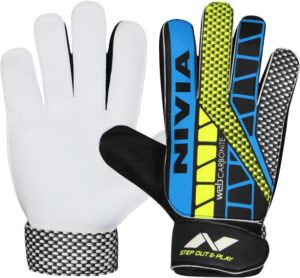 Flipkart - Buy Nivia Carbonite Web Goalkeeping Gloves (M, Multicolor) at Rs 126 only