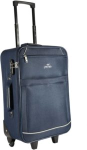 Flkpkart - Buy Pronto Bali Check-in Luggage - 24 inch  (Black) at Rs 1605