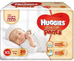 Huggies Ultra Soft XS Size Diaper Pants