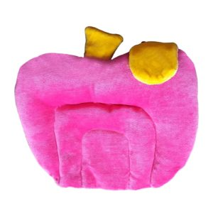 Littly Mustard Seeds Baby Pillow, Apple, Pink