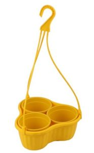 Malhotra Plastic Iris Hanging Basket Set (Yellow, Pack of 3 Sets) at rs.204