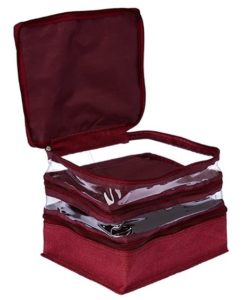 My Gift Booth Jute Make-up Kit, Medium, Purple at rs.117