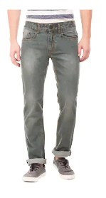 Newport Men's Low Rise Slim Fit Jeans - Blue