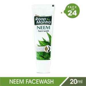 Paytm Mall - Buy Roop Mantra Neem Face Wash 20ml, Pack of 24 at Rs. 130