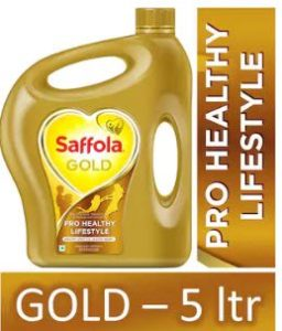 PaytmMall - Buy Saffola Gold Edible Oil 5L Jar at Rs 519
