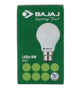 Pepperfry - Buy Bajaj White 9W LED Bulb at Rs. 79