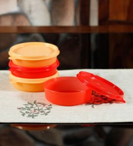 Pepperfry - Buy Tupperware Executive Flat 180 ML Bowl - Pack of 1 at Rs 69 only