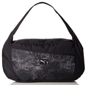 Puma 52 cms Black-Gray Violet-Graphic Travel Duffle (7478901) at rs.809