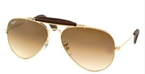 Ray-Ban RB-3422Q-001-51-Size 58 Aviator Sunglasses
