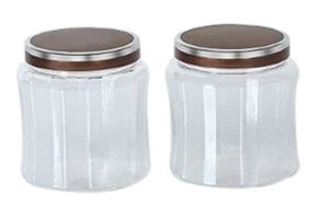 Steelo Skona Container Set, 2 Litres, Set of 2 at rs160
