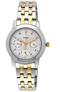 Timex E-Class Analog White Dial Women's Watch at rs.1640