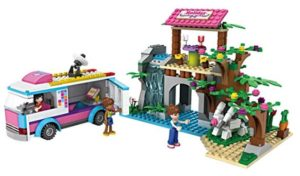 Toyshine Girls Holiday Home and Bus Building Blocks at rs.629