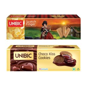 Unibic Choco Kiss and Scotch Finger