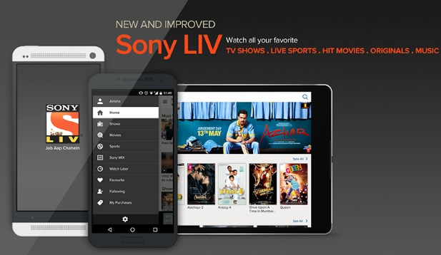 sony liv app subscription at re.1