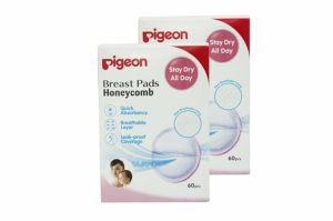 Amazon - Buy Pigeon Breast Pads Honeycomb (60 Pieces, Pack of 2) - 120 pieces  at Rs 263 only