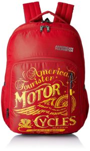 Amazon American Tourister 27 Ltrs Red Casual Backpack at Rs 681