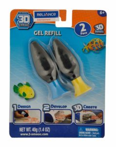 Amazon- Buy 3D Maker Refill Gel, Blue/Yellow (2 Count) at Rs 146
