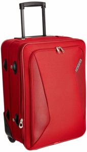 Amazon- Buy American Tourister Columbia Polyester 55 cms Red Softsided Carry-On at Rs 2117