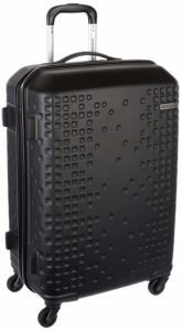 Amazon - Buy American Tourister Cruze ABS 70 cms Black Hardsided Suitcase at Rs 3375