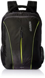 Amazon- Buy American Tourister Polyester 32 Ltrs Black Laptop Backpack at Rs 821