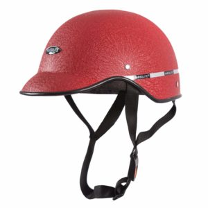 Amazon - Buy Autofy Habsolite All Purpose Safety Helmet with Strap for bikes (Red, Free Size) at Rs 180