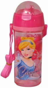 Amazon - Buy Cinderella Sipper Bottle, Multi Color at Rs. 108