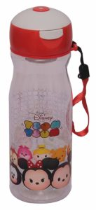 Amazon - Buy Disney Tsum Tsum Plastic Push Button Sipper Bottle, 530ml, Multicolour at Rs. 120