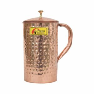 Amazon- Buy Frestol Copper Handmade Jug Serveware, Tableware Having Capacity 1700 ML at Rs 388