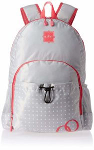 Amazon- Buy HOOM Polyester Pink School Backpack (HMSOSB 006-HM) at Rs 338