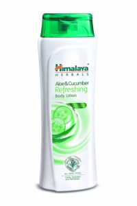 Amazon - Buy Himalaya Herbals Aloe and Cucumber Refreshing Body Lotion, 400ml  at Rs 141 only