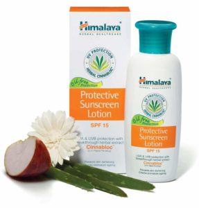 Amazon - Buy Himalaya Herbals Protective Sunscreen Lotion, 100ml  at Rs 114 only