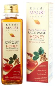 Amazon - Buy Khadi Mauri Herbal Honey Face Wash, 250ml at Rs. 162