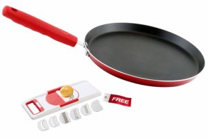 Amazon- Buy Nirlon Odor Free Non-Stick Dual Color Kitchen Cooking Tawa With Free Slicer at Rs 499