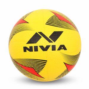 Amazon - Buy Nivia Rotator Moulded Rubber Volleyball, Adult Size 4 (Yellow) at Rs 299 only