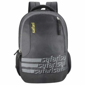 Amazon - Buy Safari Polyester 27 Ltrs Black Laptop Backpack (Identity)  at Rs 678 only
