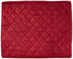 Amazon- Buy Satin Quilted Single Saree Cover, Medium, Maroon at Rs 52