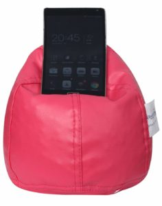 Amazon-Buy Sattva Bean Bag Mobile Holder Pink Colour at Rs 139