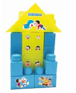 Amazon - Buy Warner Bros Doraemon Doll House Blocks, Multi Color at Rs 97