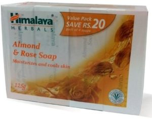 Amazon - Himalaya Herbals Almond and Rose Bathing Bar