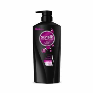 Amazon Sunsilk Stunning Black Shine Shampoo, 650ml