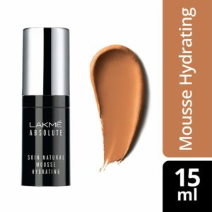 Amazon - buy Lakme Absolute Skin Natural Hydrating Mousse, Nat Cinnamon, 15ml at Rs 254